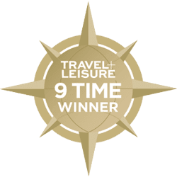 Travel and Leisure 9 Times Winner
