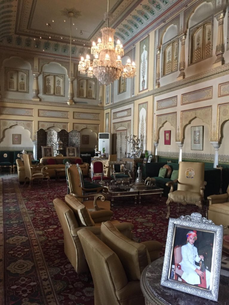 Maharajah's private living room