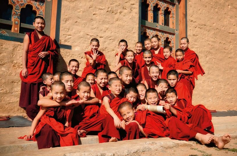 Happiness is a place Bhutan