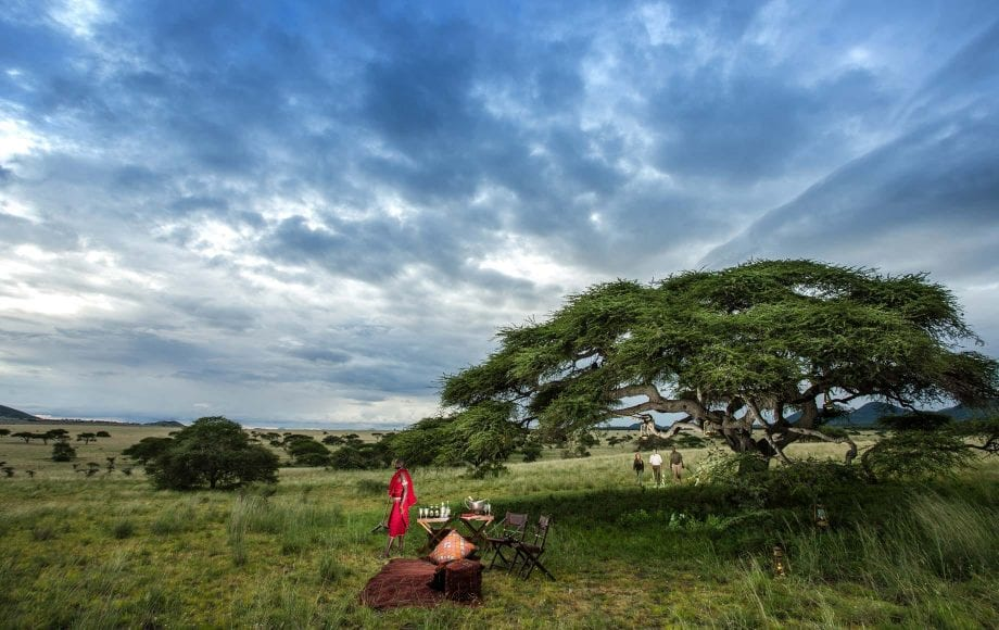 Picnic with Amazing Skyview of Chyulu Hills