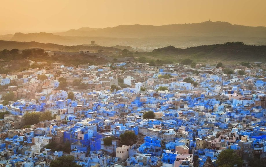Jodhpur is a city in the Thar Desert of the northwest Indian state of Rajasthan