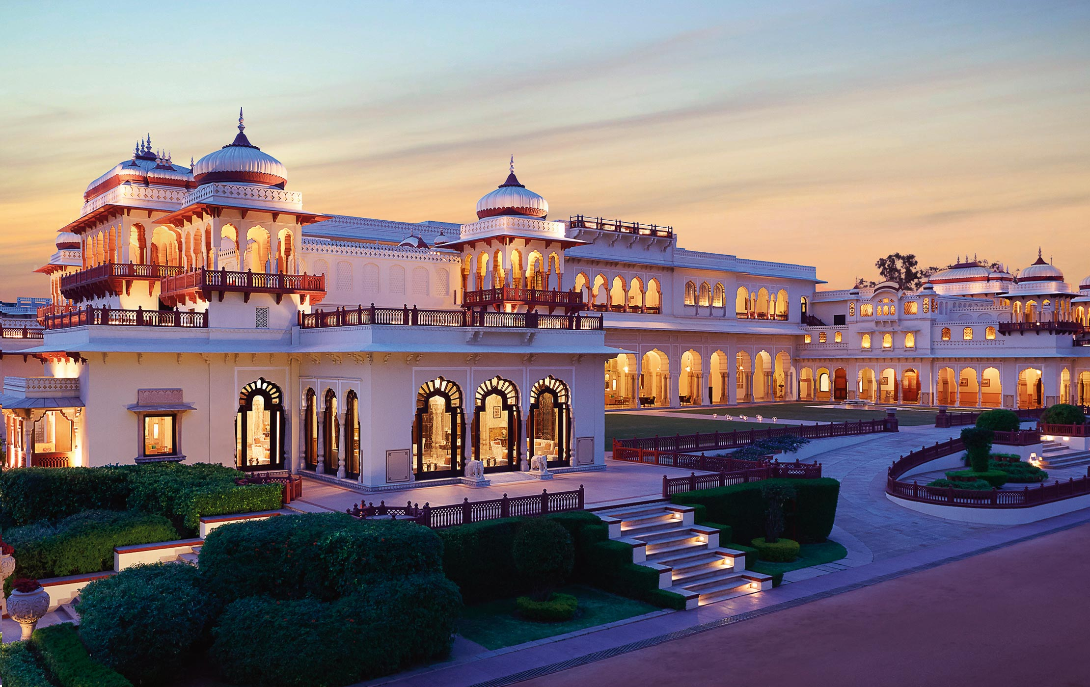 best places in rajasthan - rambagh palace