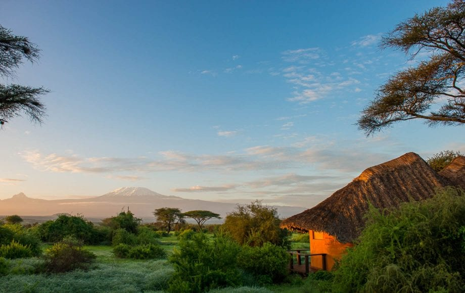 Tawi Lodge, Africa