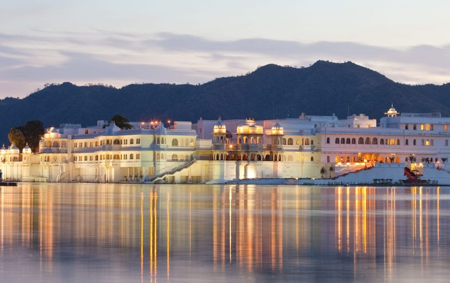 Lake view of Udaipur